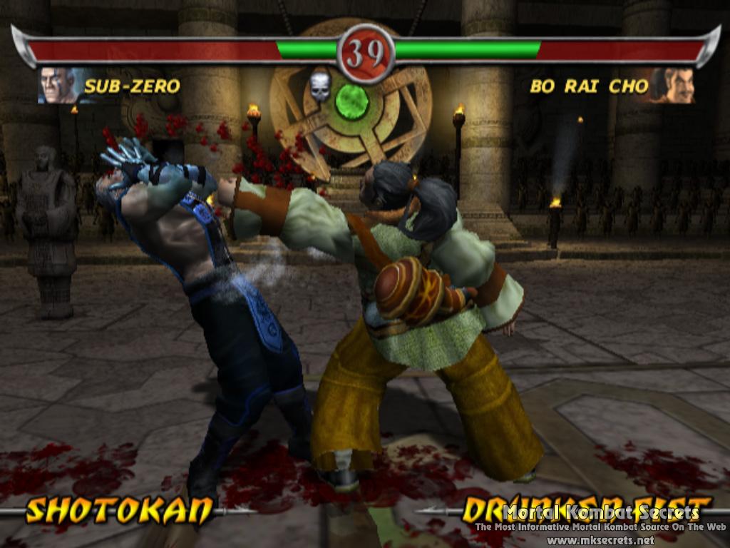 Kombat Kolumns: Mortal Kombat: Deadly Alliance Review - Mortal