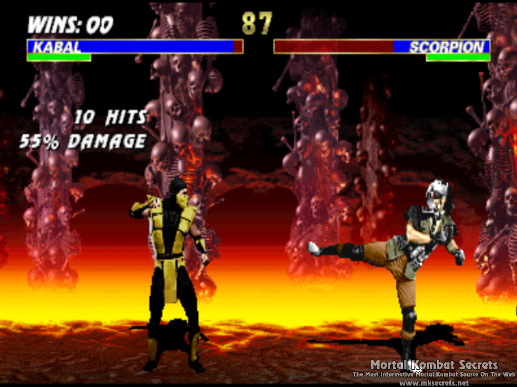 Kombat Kolumns: Ultimate Mortal Kombat 3 For PlayStation 2
