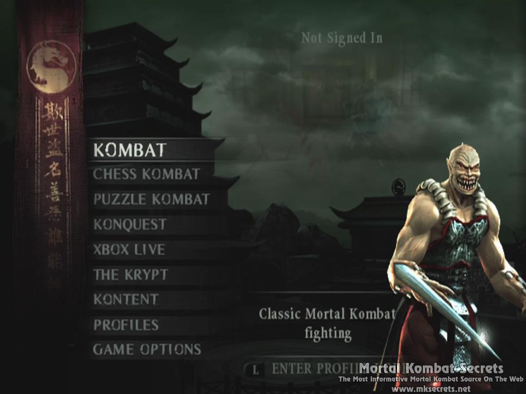 mortal kombat deception ps2 unlock all characters