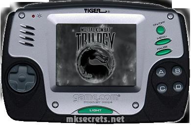 Kombat Kolumns: Mortal Kombat Trilogy for Game com - Mortal