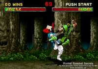 Mortal Kombat II for Sega Saturn