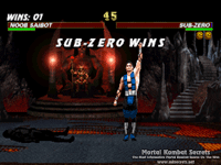 Mortal Kombat Trilogy for Sega Saturn