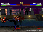Cage's Red Shadow Kick