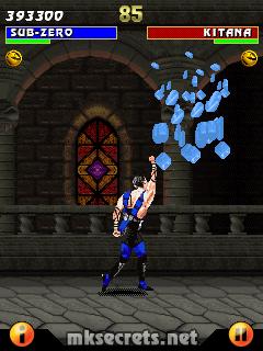 Kombat Kolumns: Ultimate Mortal Kombat 3 for Java Mobiles