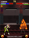 Ultimate Mortal Kombat 3 for Java Mobiles