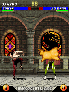 Kombat Kolumns: Ultimate Mortal Kombat 3 for Java Mobiles - Mortal