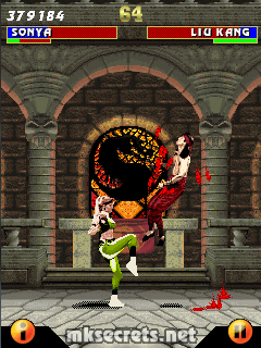 Kombat Kolumns: Ultimate Mortal Kombat 3 for Java Mobiles