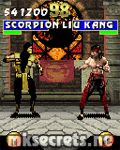 Ultimate Mortal Kombat 3 for Java Mobiles at 128x160