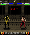 Ultimate Mortal Kombat 3 for Java Mobiles at 176x204