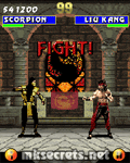 Ultimate Mortal Kombat 3 for Java Mobiles at 176x220