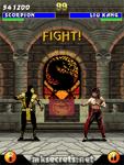 Ultimate Mortal Kombat 3 for Java Mobiles at 320x240