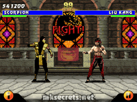 Ultimate Mortal Kombat 3 for Java Mobiles at 320x240(landscape)