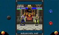 Ultimate Mortal Kombat 3 for Java Mobiles at 400x240