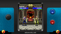 Ultimate Mortal Kombat 3 for Java Mobiles at 640x360