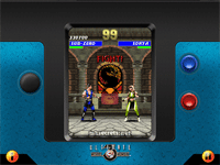 Ultimate Mortal Kombat 3 for Java Mobiles at 640x480