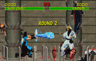 Image result for mortal kombat subzero round 2