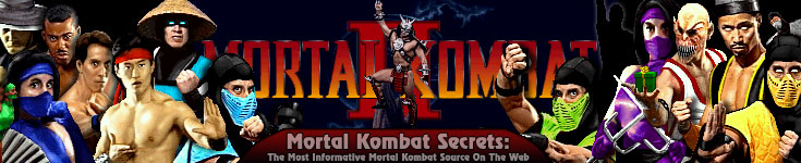 Mortal Kombat 2 Genesis Cheats