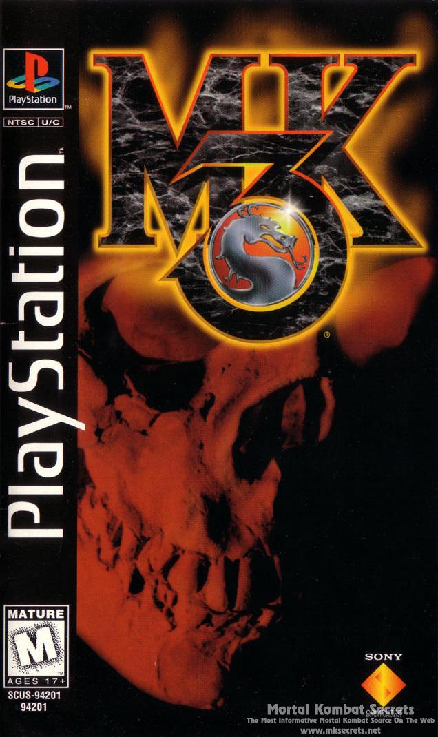 Mortal Kombat 3 Box Art Mortal Kombat Secrets