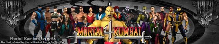Mortal Kombat 4 - Special Moves and Finishers Guide - Mortal