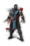 Mortal Kombat  Character Drawing
