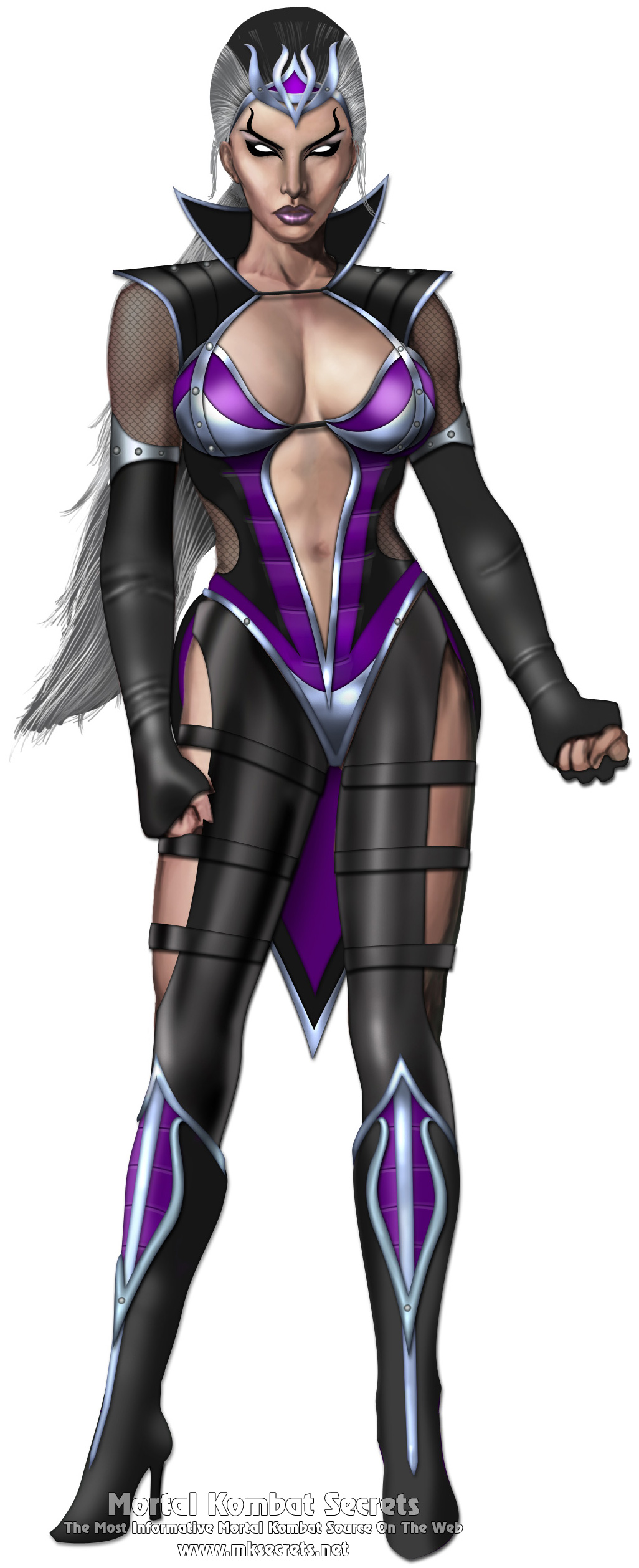Mortal Kombat 9 (2011) - Character Drawings - Mortal Kombat Secrets