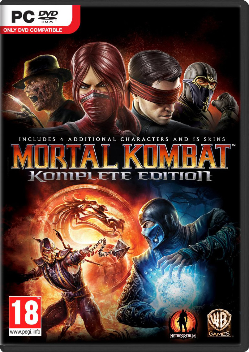Mortal kombat: komplete edition now available for pc • mortal.