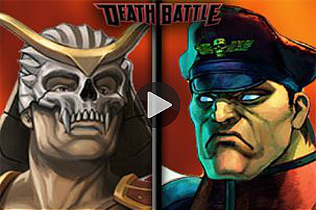 ScrewAttacks latest Death Battle: Shao Kahn VS. M. Bison