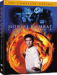 Mortal Kombat Conquest Us Dvd Front Box Art