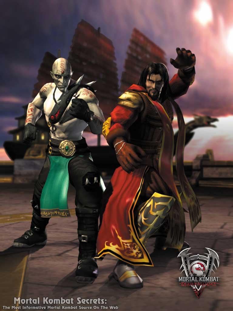 Mortal Kombat: Deadly Alliance Renders - Mortal Kombat Secrets