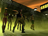 Mortal Kombat Special Forces Intro The Black Dragon Escape
