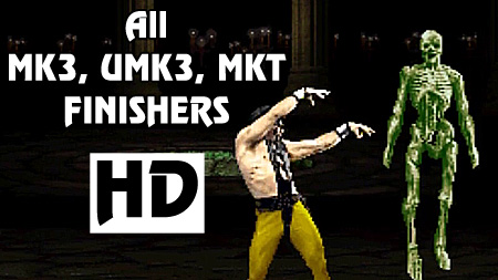 All MK3, UMK3 and MKT Finishers in HD