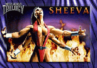 Mortal Kombat Trilogy Sheeva Poster