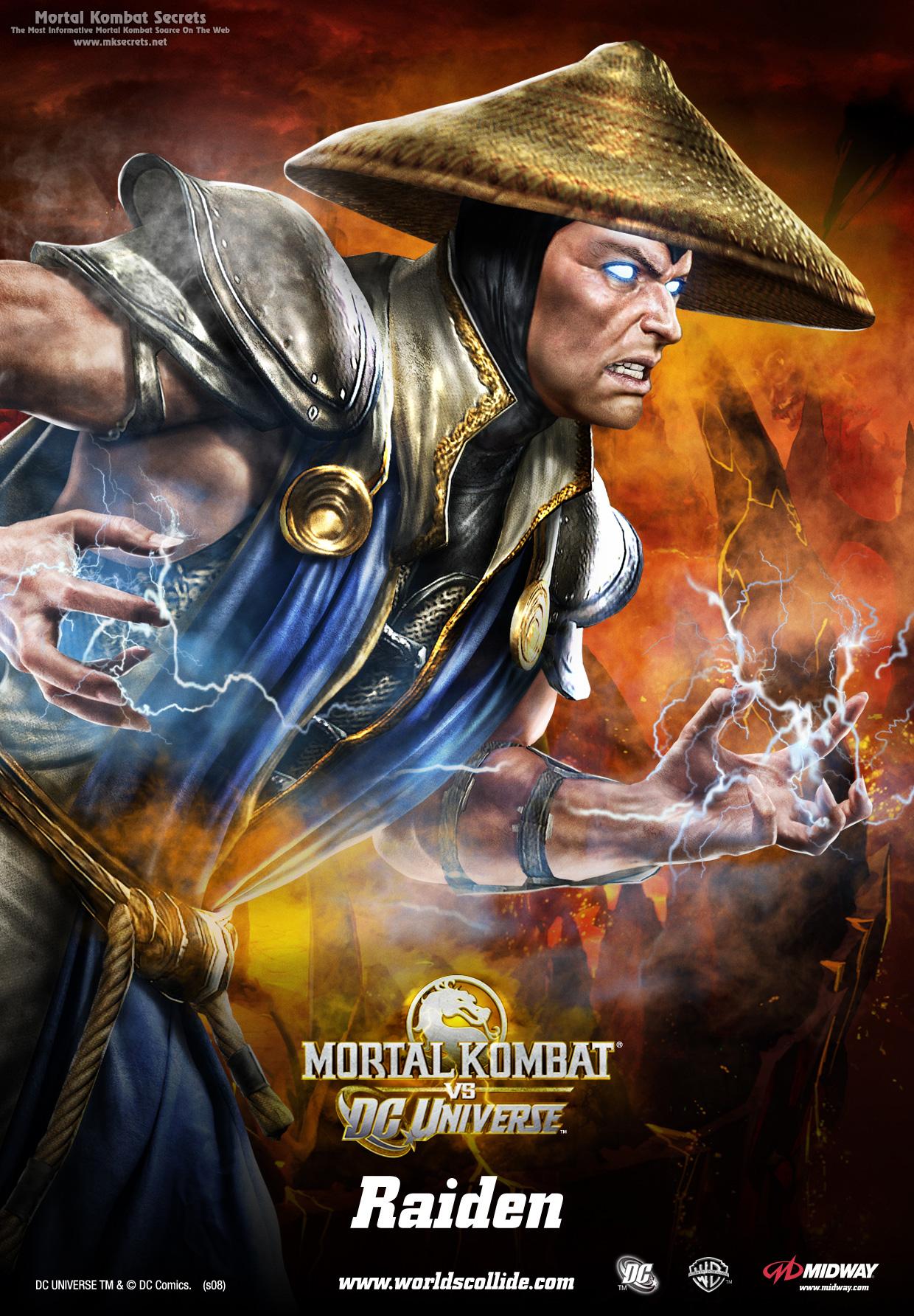 Mortal kombat vs dc universe posters