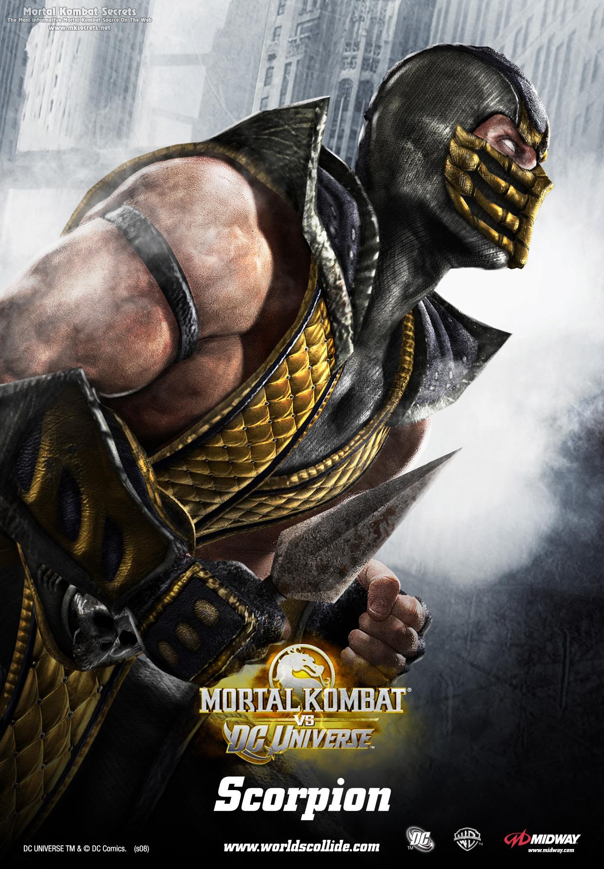 Mortal Kombat VS DC Universe Posters Mortal Kombat