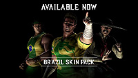 Mortal Kombat X Brazil Skin Pack Official Render