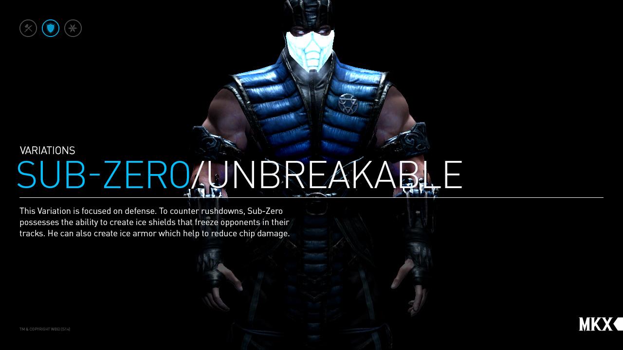 Mortal Kombat X Kano and Sub-Zero Character Variations ...
