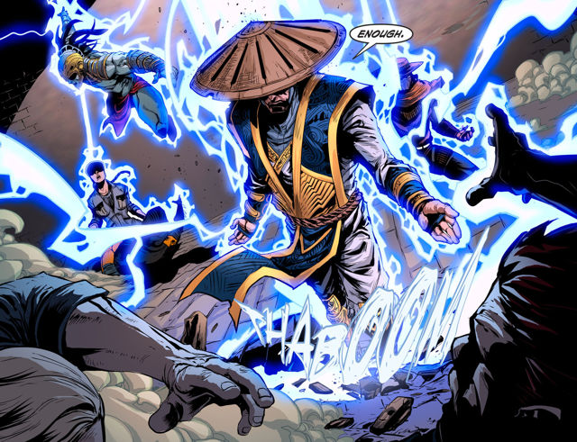 MKX Comics Chapter #5 Available + Chapter #6 Info & Cover