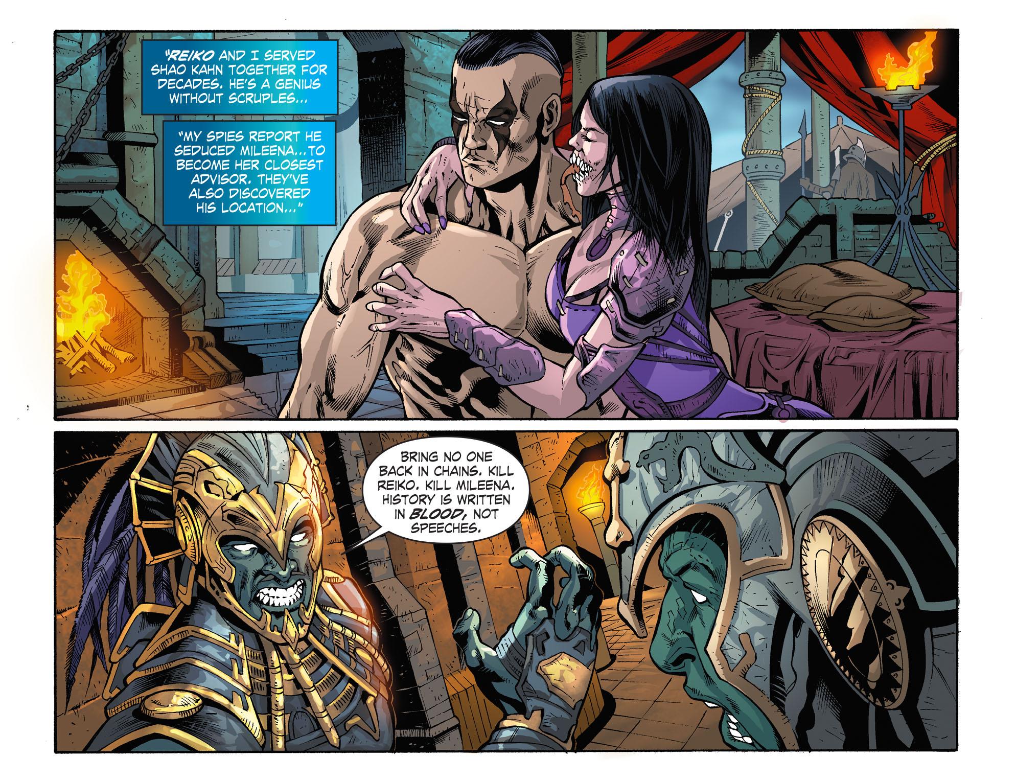 Mortal kombat armageddon секс