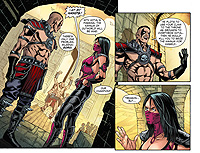 Mortal Kombat X Comic Book Digital Chapter 08 Preview 03