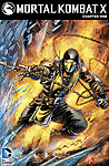 Mortal Kombat X Comic Book Digital Issue 01 Cover