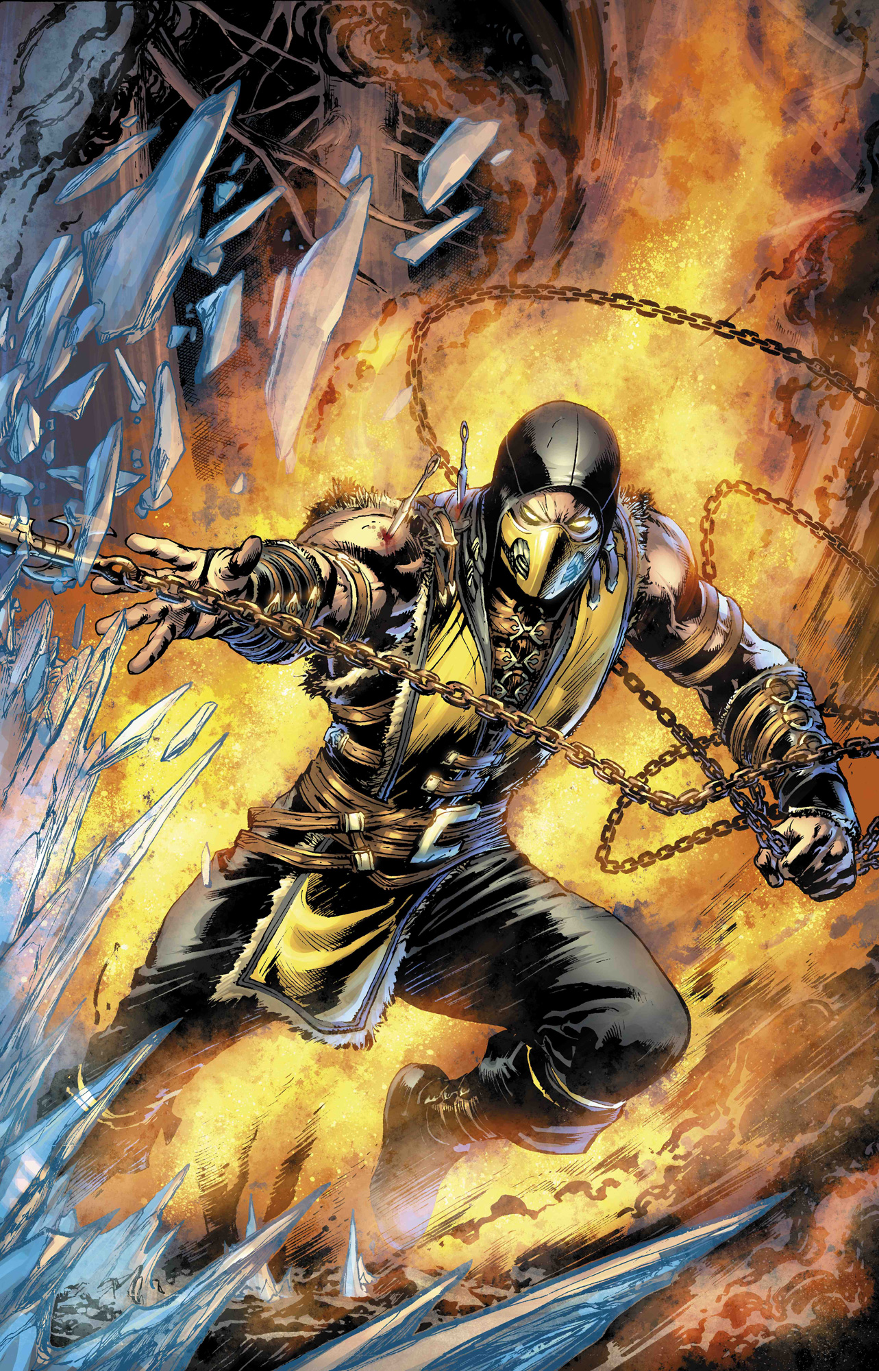 Interview With Mkx Comic Book Writer Shawn Kittelsen Mortal