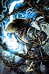 Mortal Kombat X - Comic Book Digital Issue 03 Raiden Cover Art