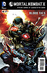 Mortal Kombat X Comic Book Print Issue 04 Kano Cover Art