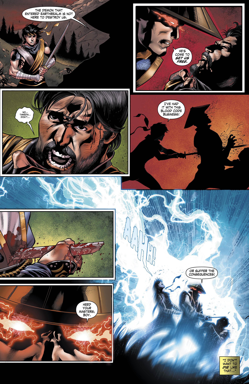 Rain Mortal Kombat X Comic