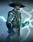 Mortal Kombat X Comic Book Raiden Art