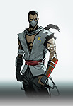 Mortal Kombat X Comic Book Shirai Ryu Art
