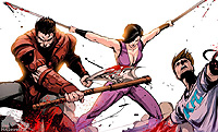 Mortal Kombat X Comic Book Tasia And Jarek Return 01