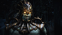 Mortal Kombat X E3 Screenshot Kotal Kahn Intro Snow Forrest