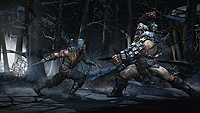 Mortal Kombat X E3 Screenshot Scorpion Ferra Torr Snow Forrest