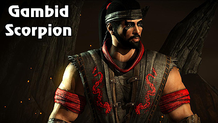 Mortal Kombat X Gambid Scorpion Pc Skin Mod